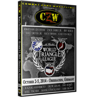 "CZW ""WXW World Triangle League 2014 N4"" 10/5/2014 DVD"