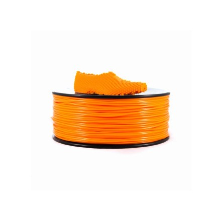 Filamento - Filaflex Naranja 1,75 Mm (flexible)