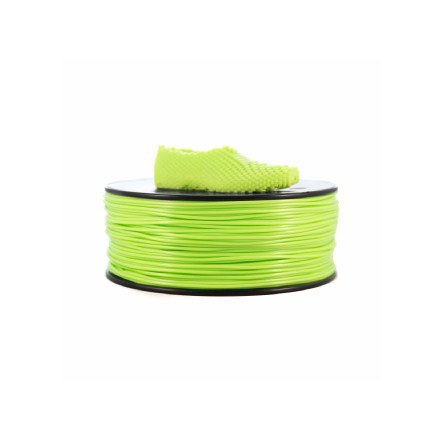 Filamento - Filaflex Verde 3,00 Mm (flexible)