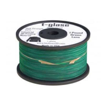 Filamento - Taulman PET T-Glase Verde (3 Mm)