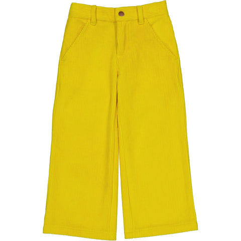 Abba pant Yellow