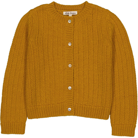 June Cardigan Deep Yellow