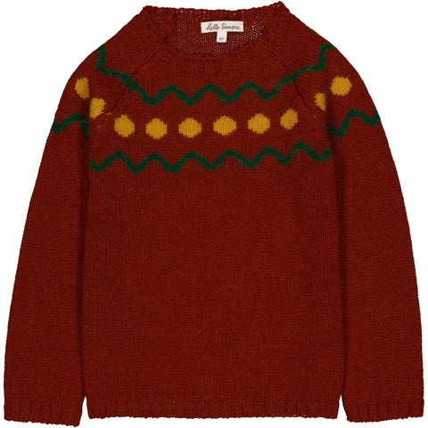 Marmotte Knit Sweater Spiti Roux