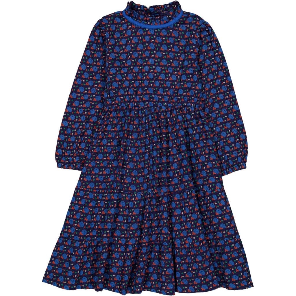 Mirabelle dress Envol Marine