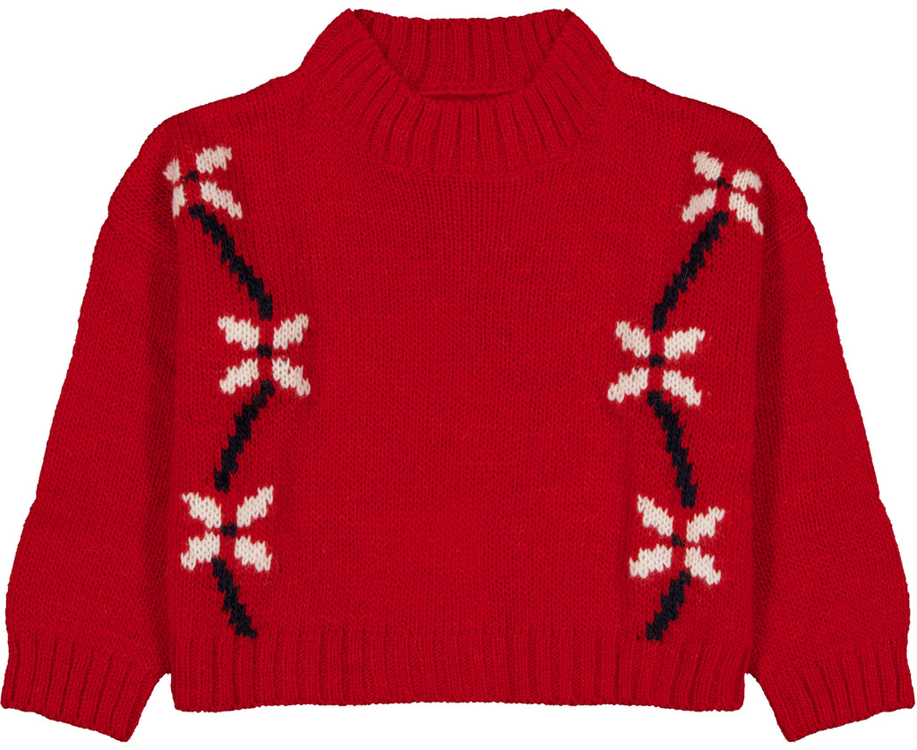 Crop Knitted Sweater Mousse