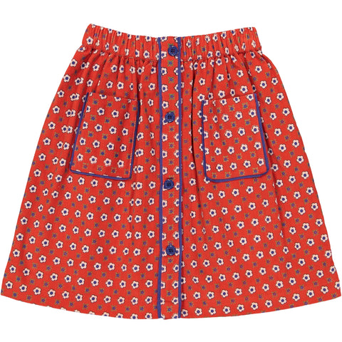 Charlotte skirt Marguerite Red