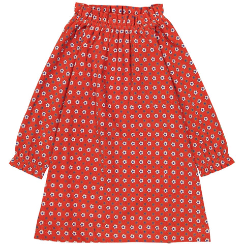 Chiara dress Marguerite red