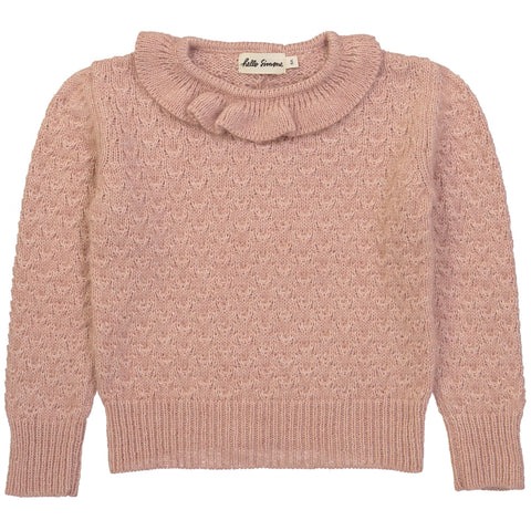 Colette Knit Sweater Rose