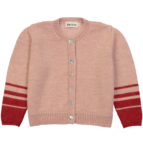 Cosmos Knit Cardigan Rose