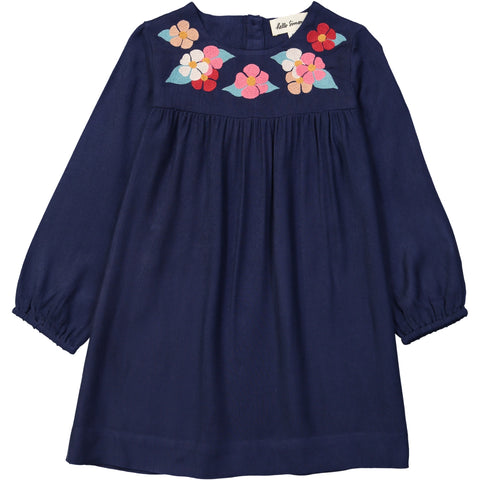 Egée dress Flower Blue