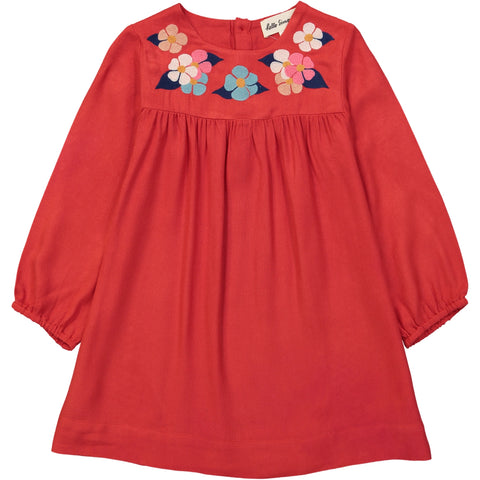 Egée dress Flower Red