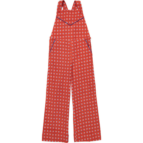 Lise Overall Marguerite Red