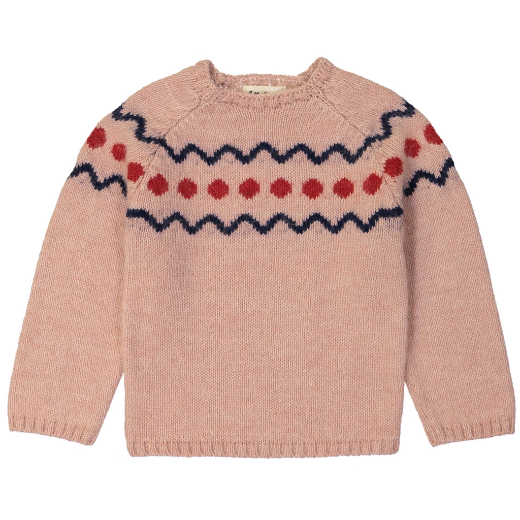 Marmotte Knit Sweater Spiti Rose