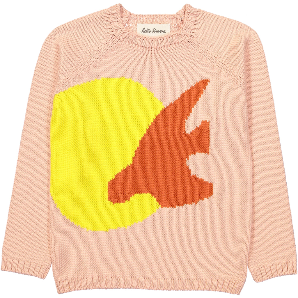Marmotte Knit Sweater Birds