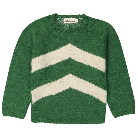 Marmotte Knit Sweater Tolstoi Green