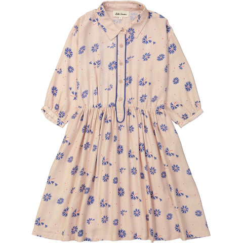 Nephtys dress Bleuet Rose