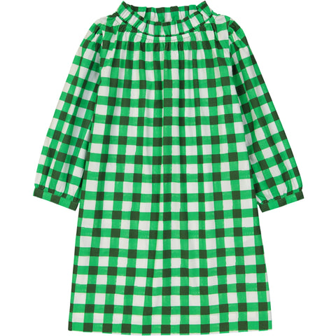 Chiara dress Vichy Green