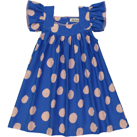 Katell dress Comets Blue