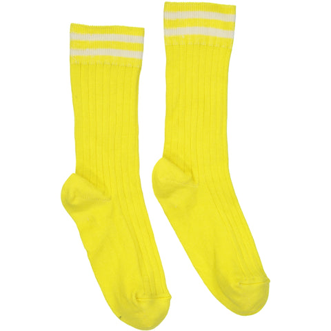 Tennis Socks Yellow