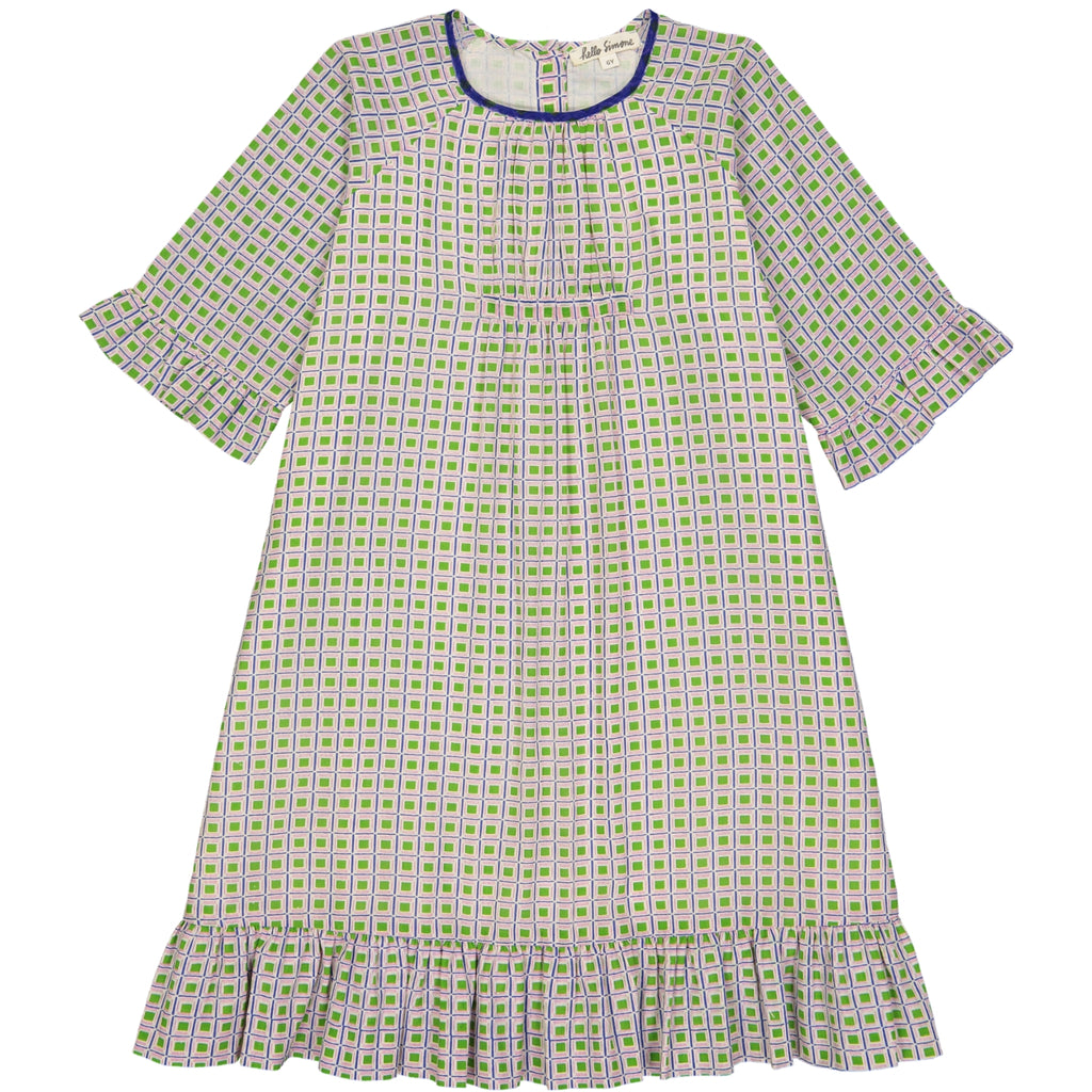 Artémis dress Jacno Green