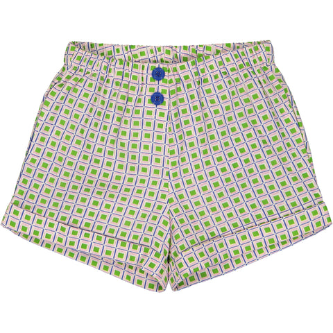 Coline Short Jacno Green