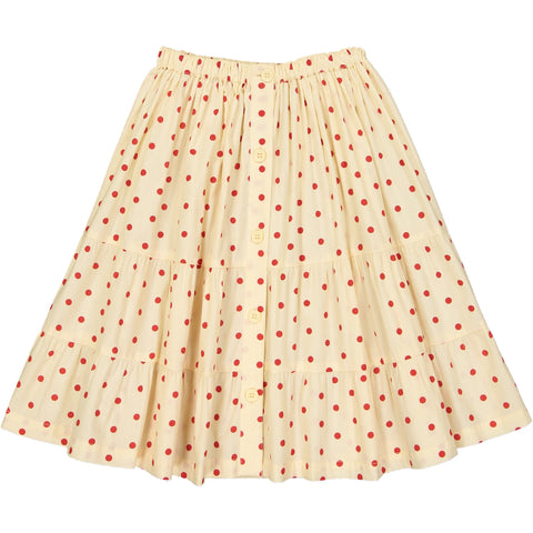 Esmée skirt Dots Red
