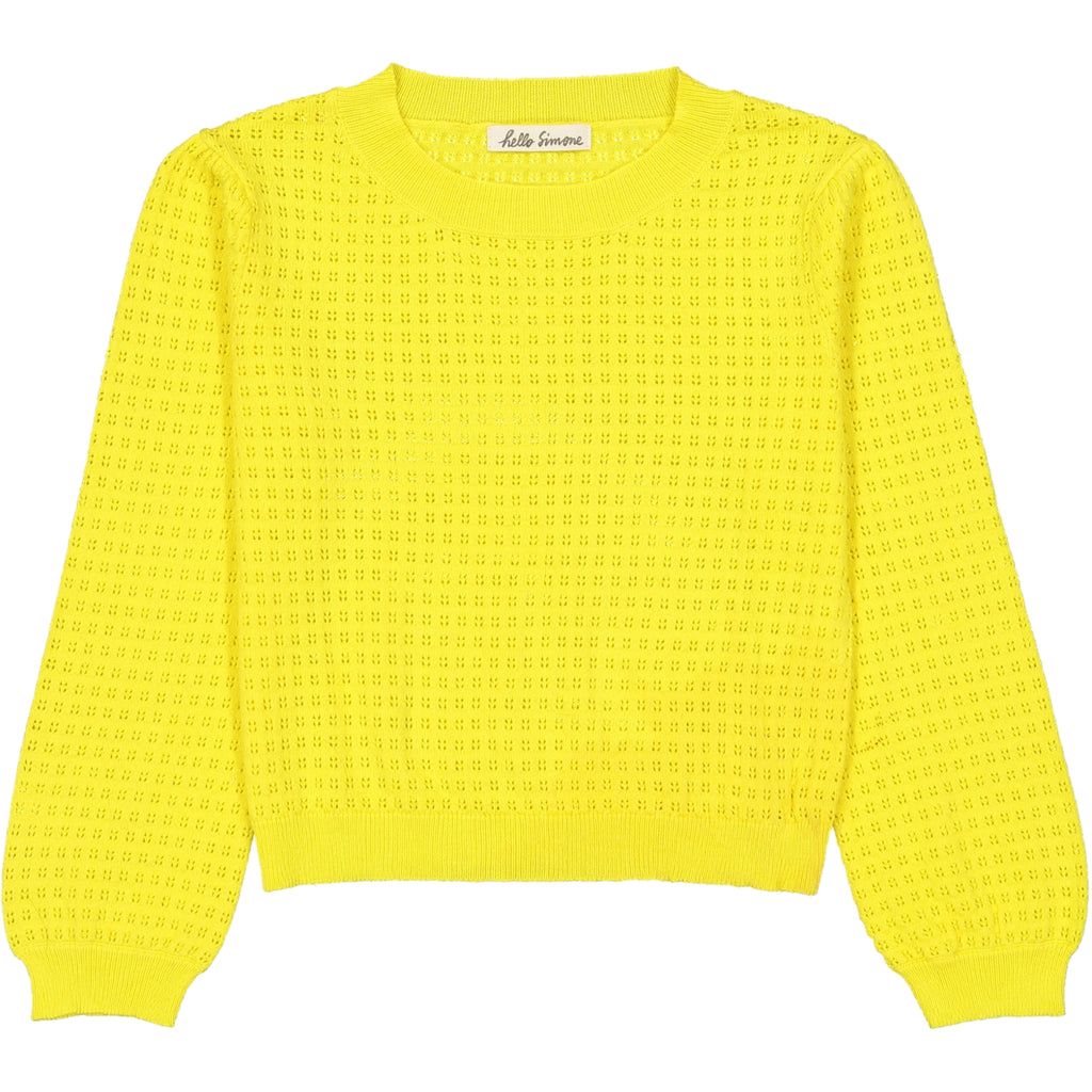Emma sweater Yellow