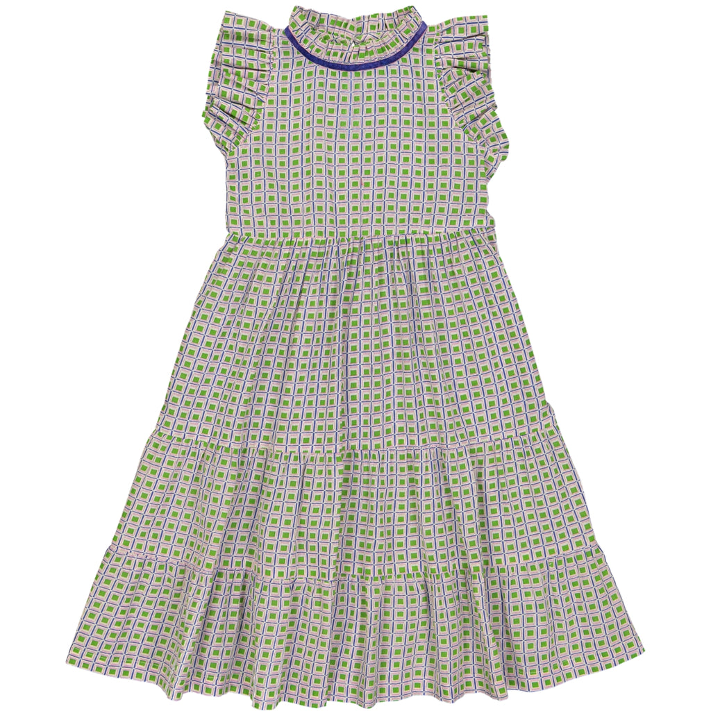 Fanny dress Jacno Green