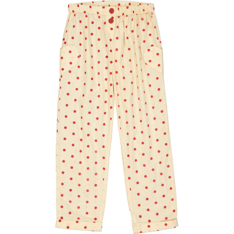 Georgia Pant Dots Red