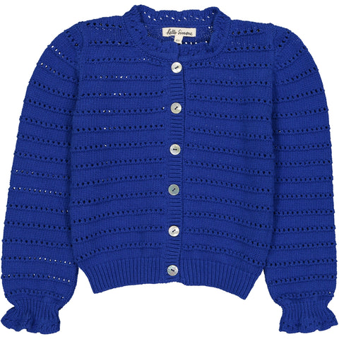 Julia Cardigan Blue