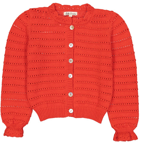 Julia Cardigan Red