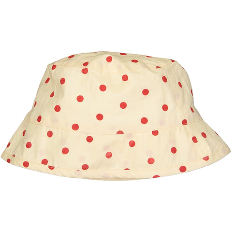 Milo Hat Dots Red