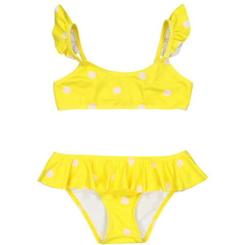 Marina Swimsuit Dots Yellow
