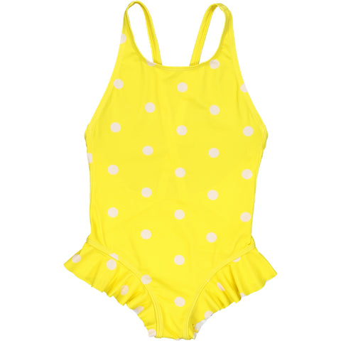 Ondine Swimsuit Dots Yellow