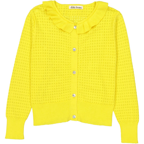 Sara Cardigan Yellow