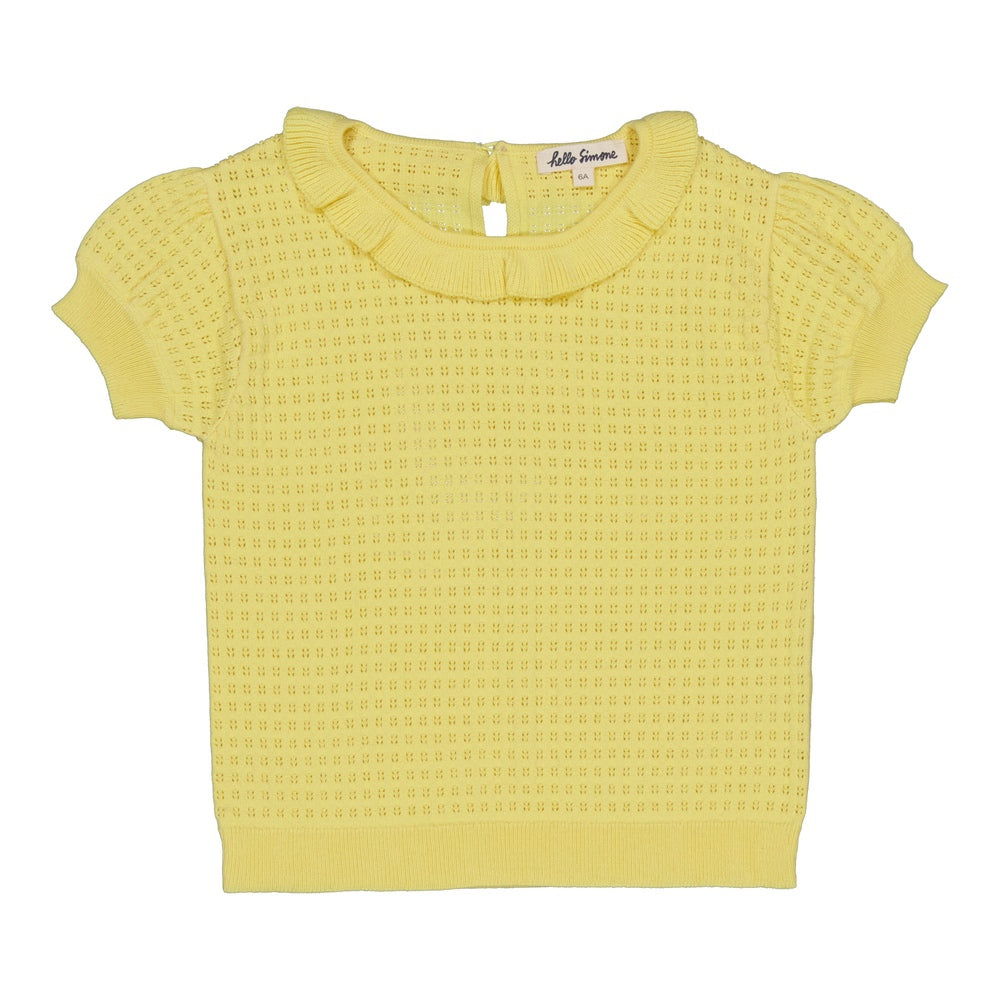 Cassy sweater Pale Yellow