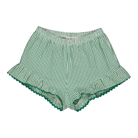 Dorothée short Vichy Green