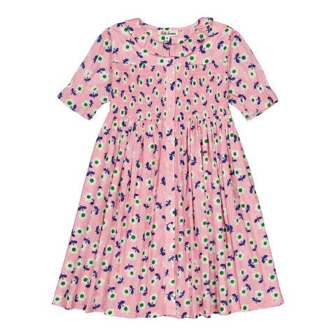 Esther smocked dress Michelle rose