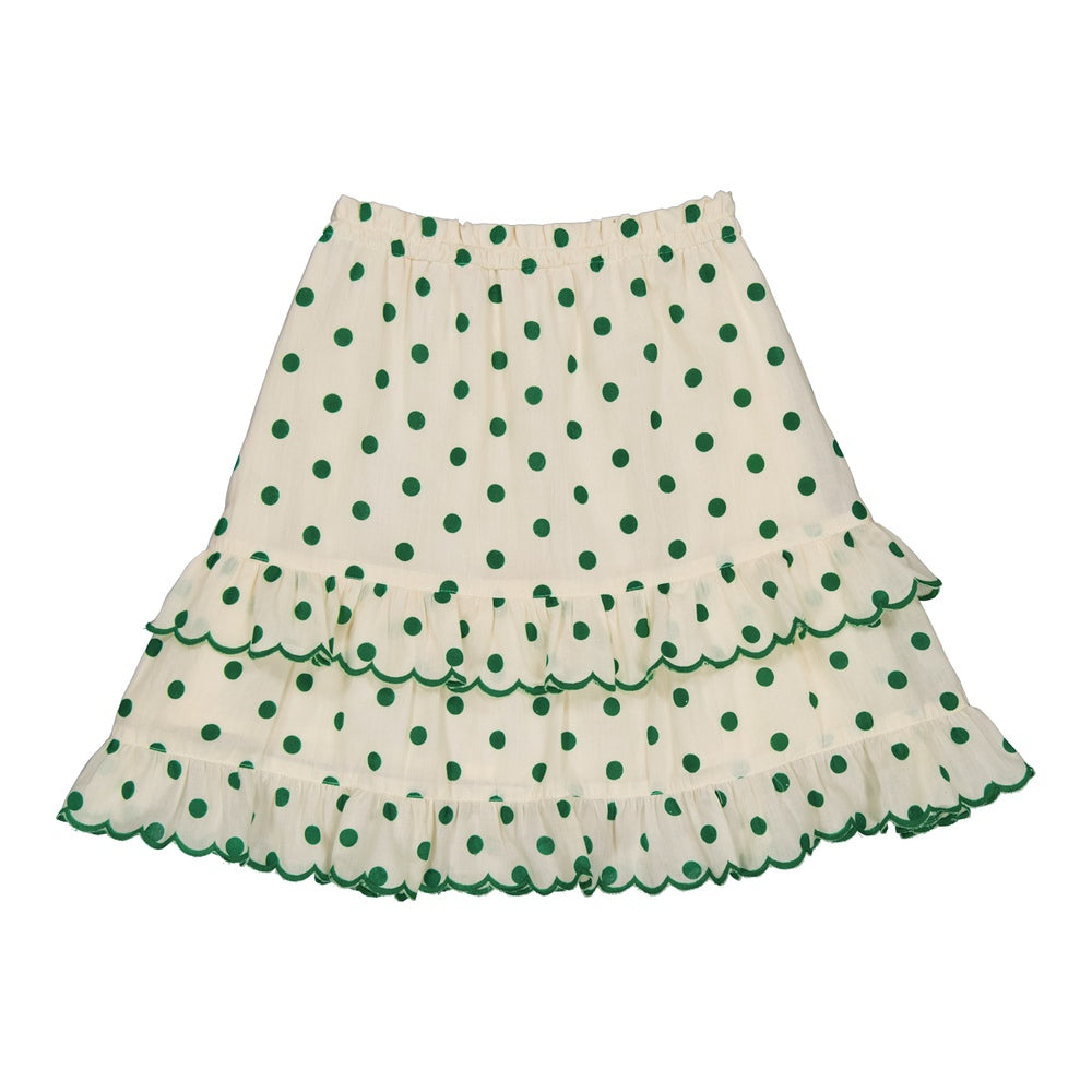 Eole skirt Dots Green