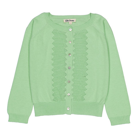 Passy cardigan Pale Green
