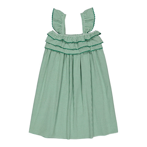Tammy dress Vichy Green