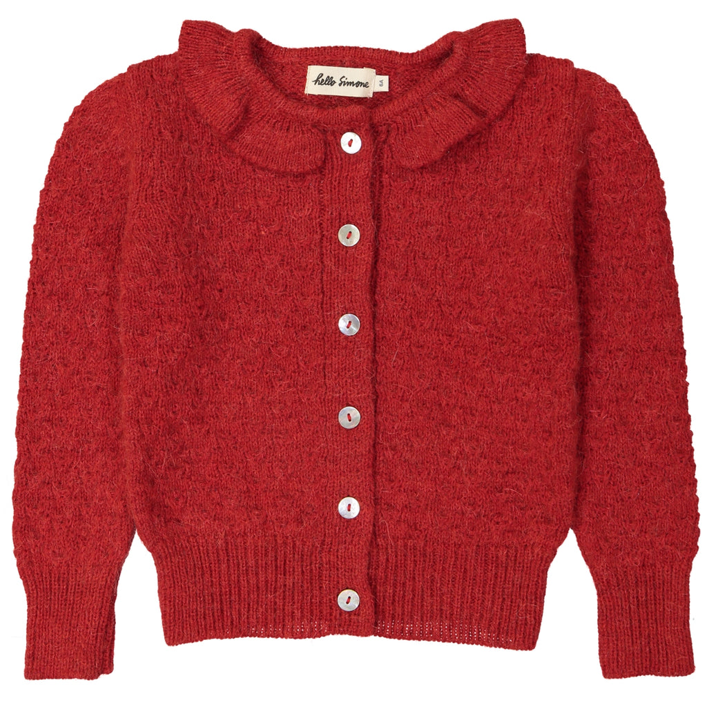 Sara Cardigan Red Women