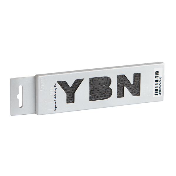 YBN 11 Speed Ti-Nitride Black Chain SLA110 (222g)