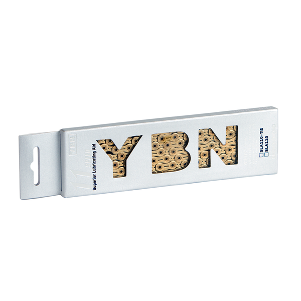 YBN 11 Speed Ti-Nitride Gold Chain SLA110 (222g) inc. Molten Speed Wax Treatment