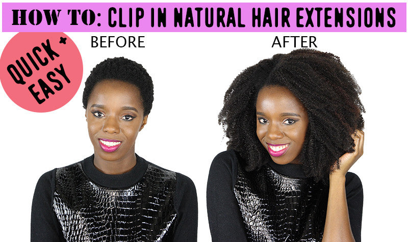 How To Install CurlSistas Hair Clip In Extensions