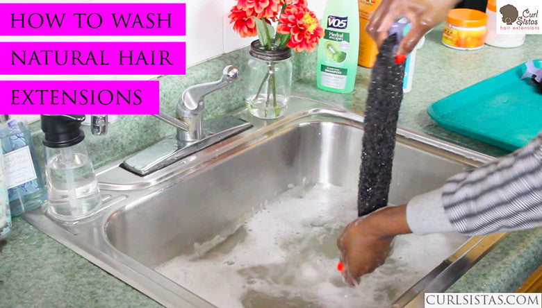 How To Wash Curl Sistas Hair (Video)