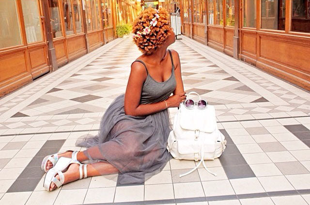 Curlsista of the Day: Oriane from France – Curl Sistas Hair