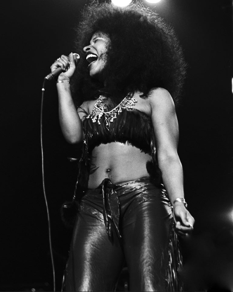 Day-88-Chaka-on-mic-feathers-leather