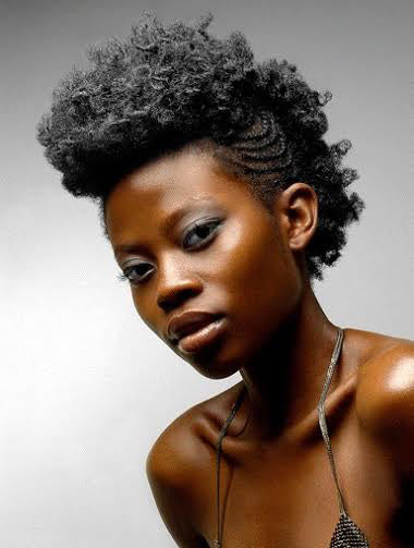 Swell 15 Fauxhawks For The Edgy Curlsista Curl Sistas Hair Short Hairstyles For Black Women Fulllsitofus