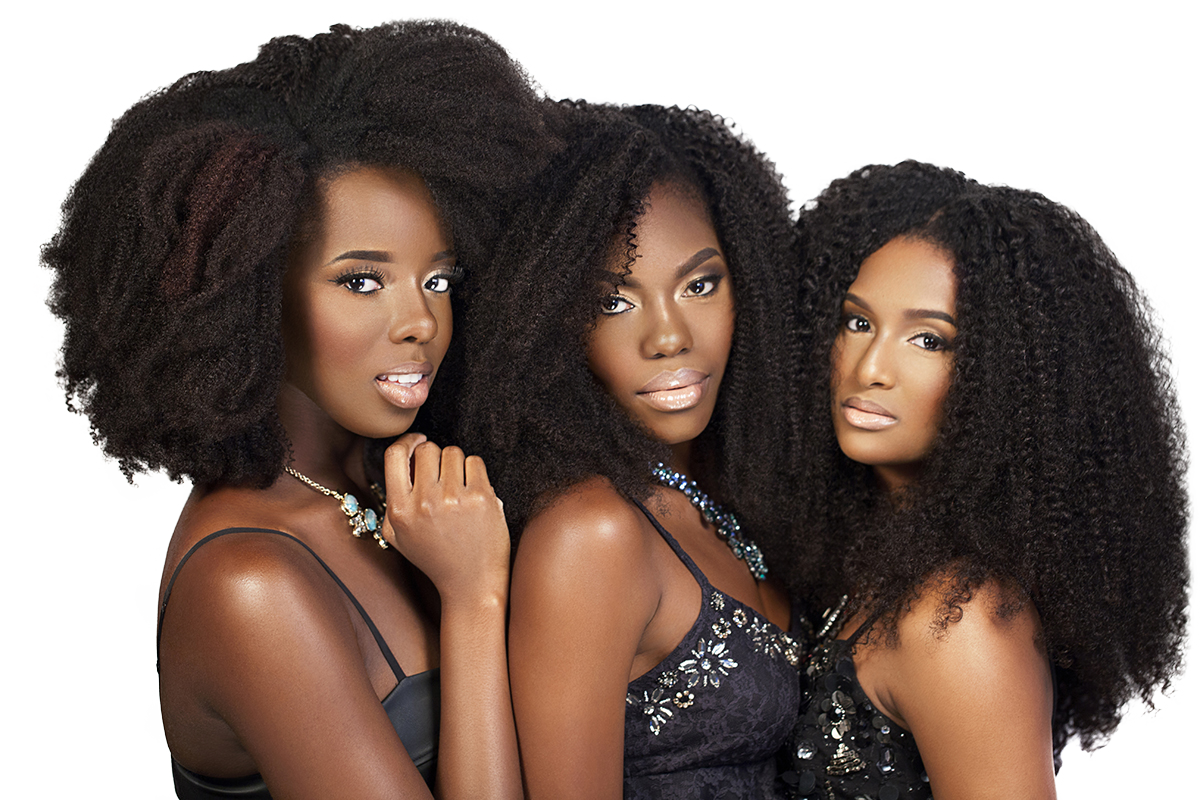 Natural Hair Extensions, Natural Hair Clip-ins